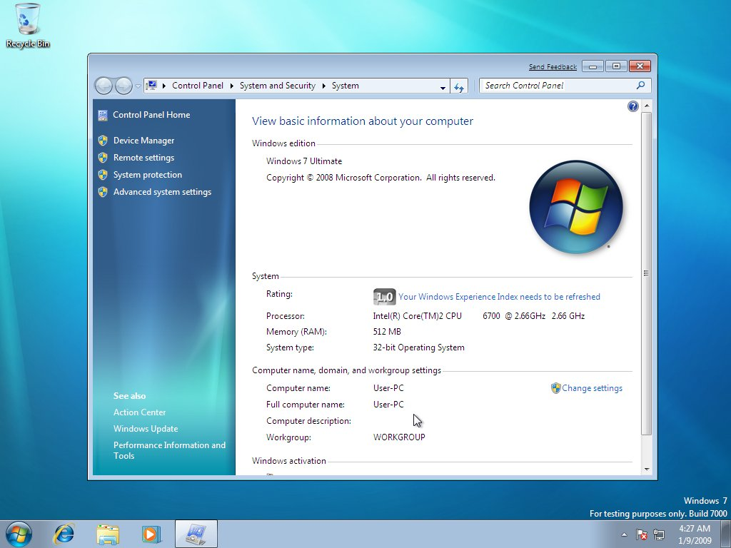 windows experience index in windows 7 guide windows 7 rh techtalkz com Windows 7 Manual Guide Sean's Windows 7 Guide